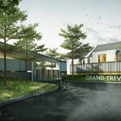 TOWNHOUSE REMPOA - Exterior View 03_ REV 01